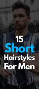 Short Hairstyles For Men 2019