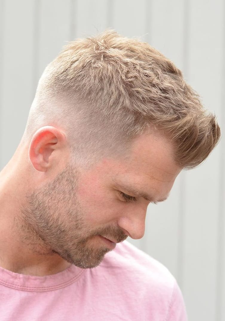 Side & Back Fade Hairstyle For Men In 2019