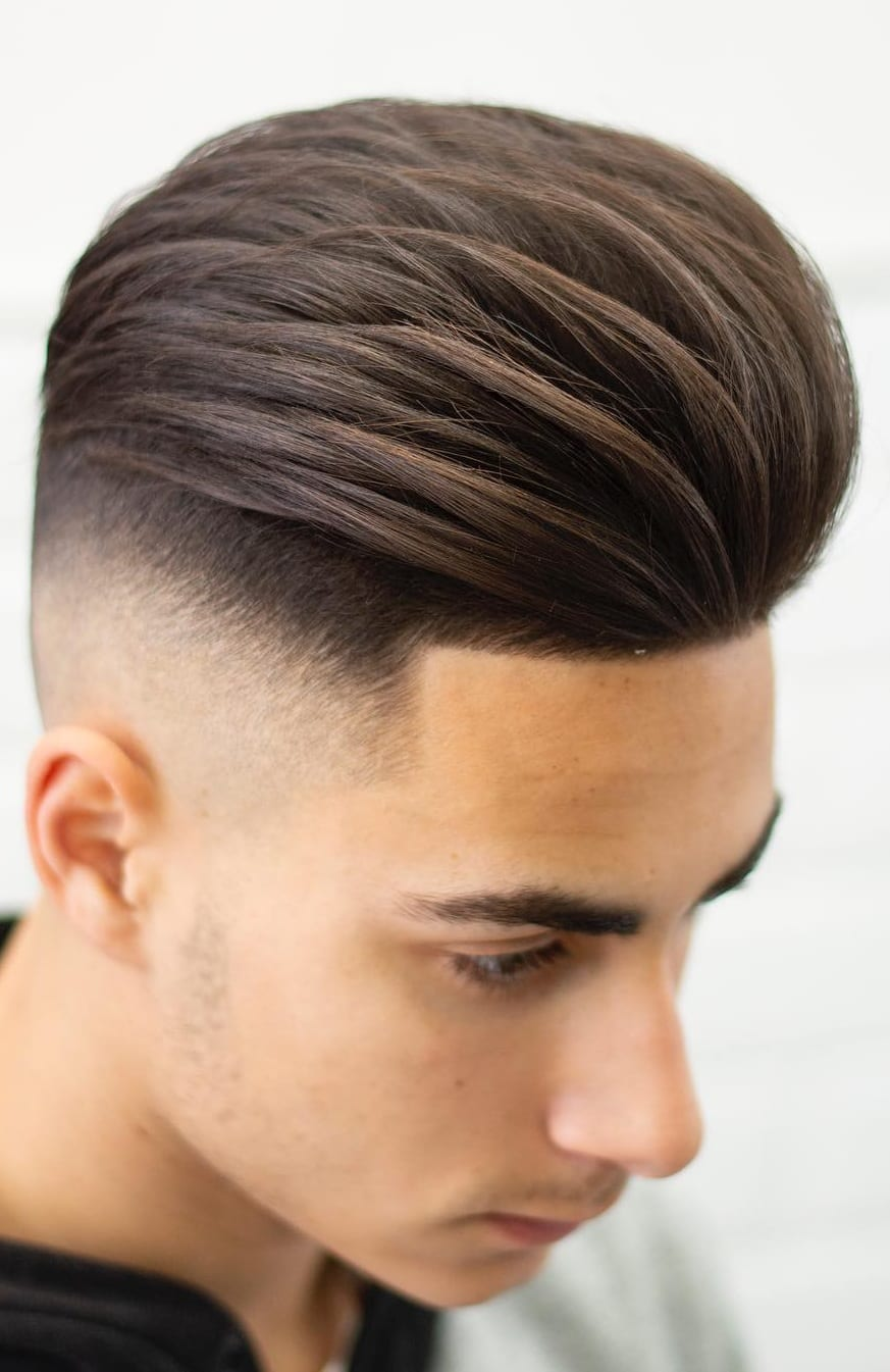 Side Fade Haircuts For Men