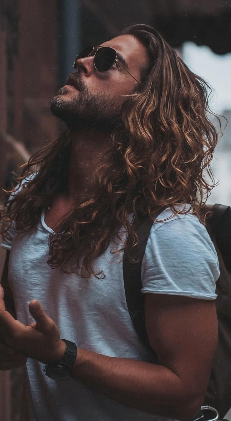 Some Sexy Looks For Men – Long Hairstyles