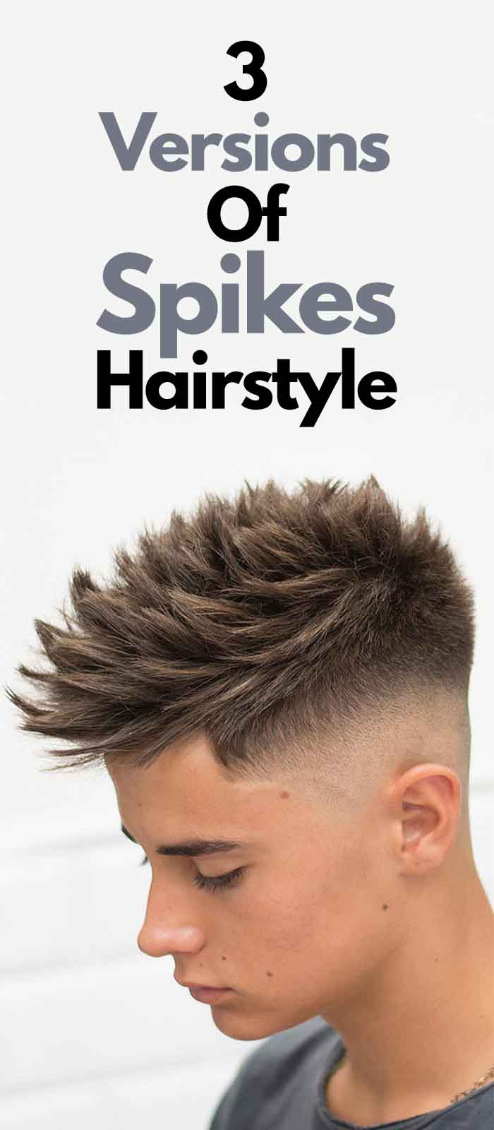 Spikes Hairstyle For Men