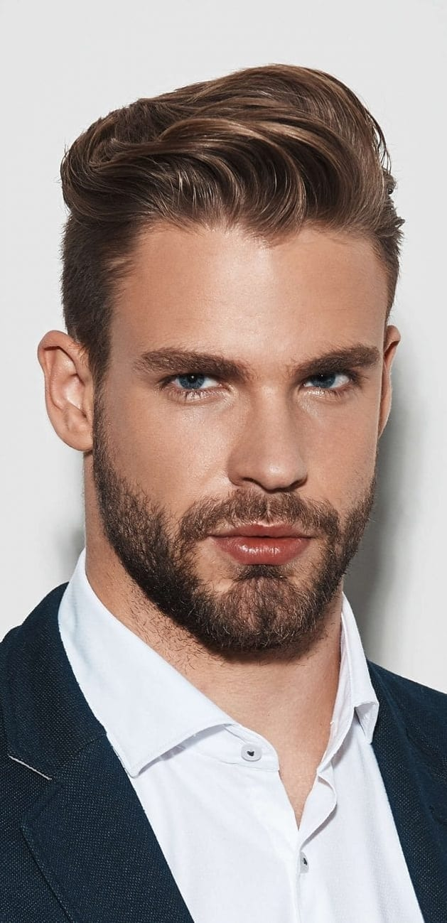 Straight Hairstyles For Men