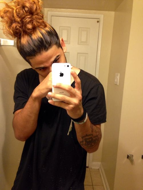 The High Ponytail The Strong Amp Sexy Hairstyle Men S