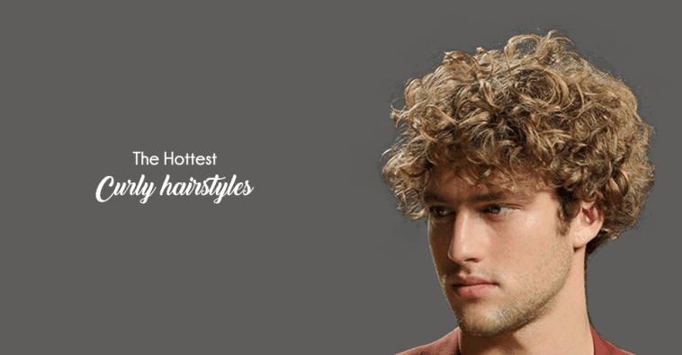 hottest Curly Hairstyles for men