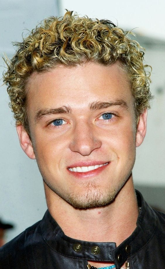 justin timberlake romantic curls