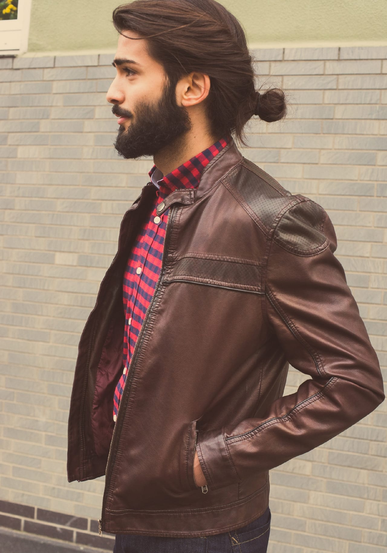 low man bun