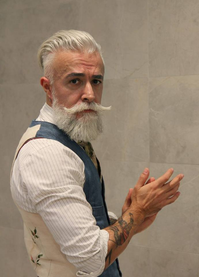 Old Man With A Mohawk Haircut Mens Hairstyle 2018