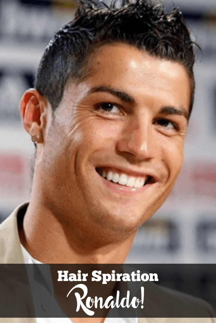 pictures of ronaldo inspired hairstyles