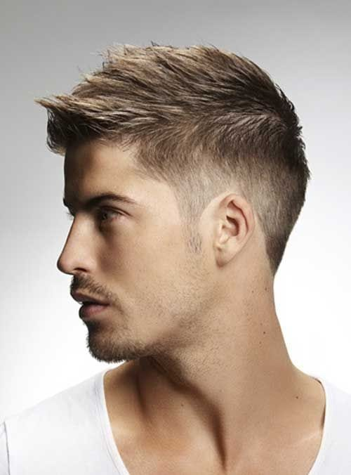side fade haircut for men