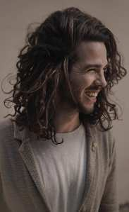 Curly Hair Look for men