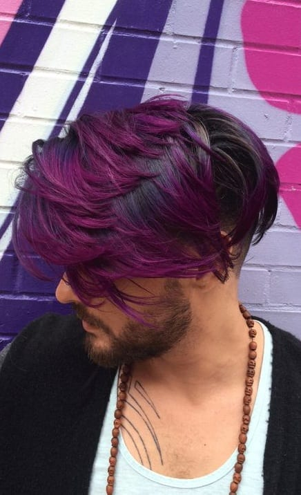 Cool Hair Colors for Men to try