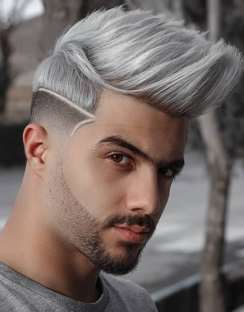 Mens Hair Color Trends