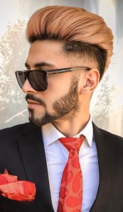 Cool Trendy Pompadour Hair Look You Must Try