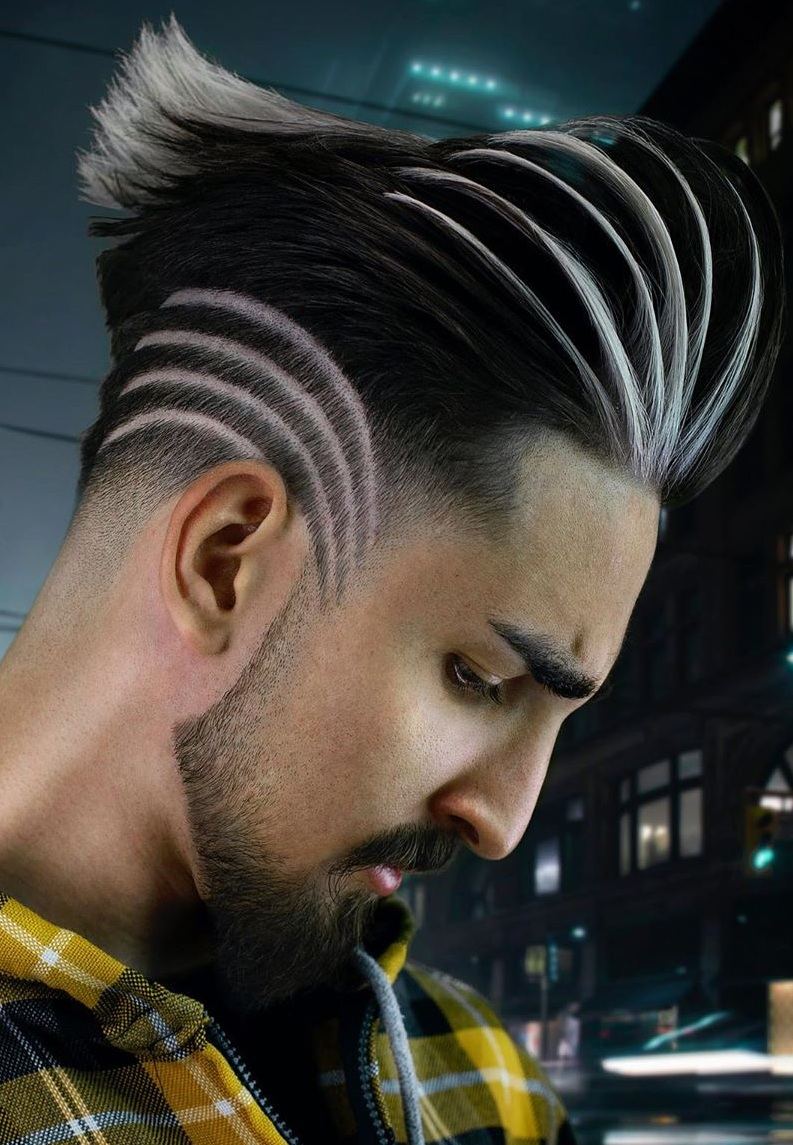 Modern Pompadour Haircut to try now