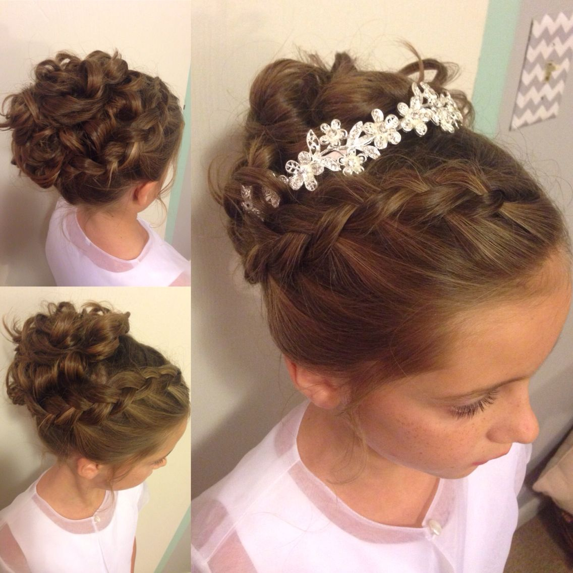 Wedding Hairstyles Little Girls Long Hair