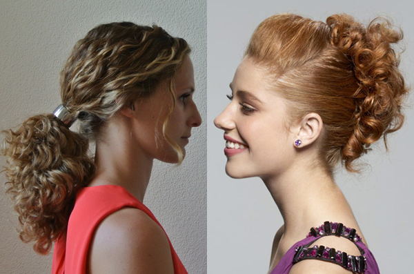 Curly Hairstyle Updos