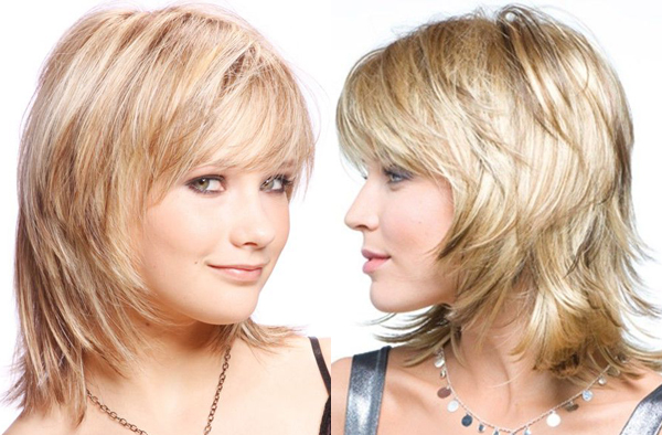 layered haircuts for thin hair