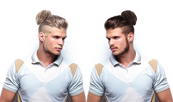 Man Bun Clip On