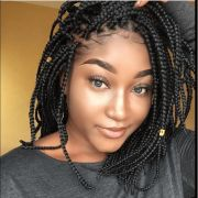 super hot black braided hairstyles