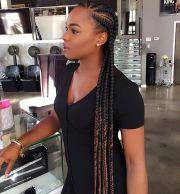 trendy box braids