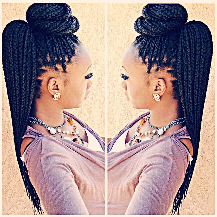 55 Trendy The Different Box Braids Artificial Hairstyles 2018