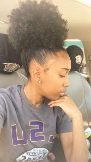 hot natural hair black women