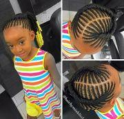 trendy braid hair models little