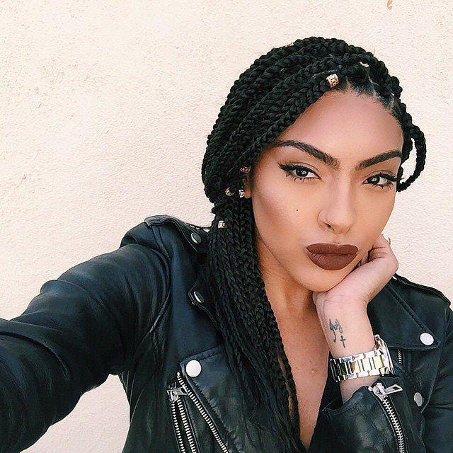 2020 Best Black Braided Hairstyles For Girls