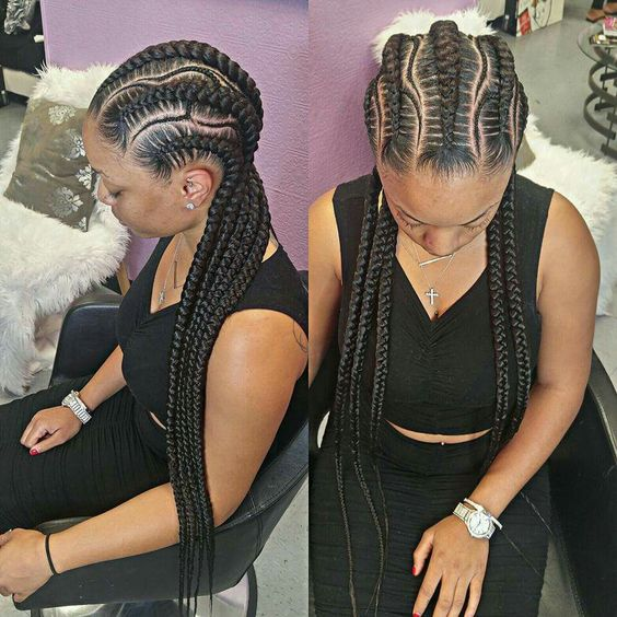 2020 American And African Hair Braiding Cornrows The Beauty Of