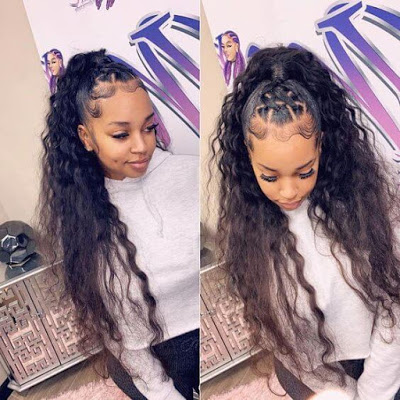 Braided Hairstyle For Black Women