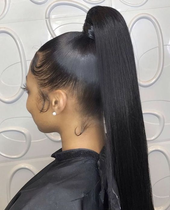 Ponytail Hairstyle For Black Women