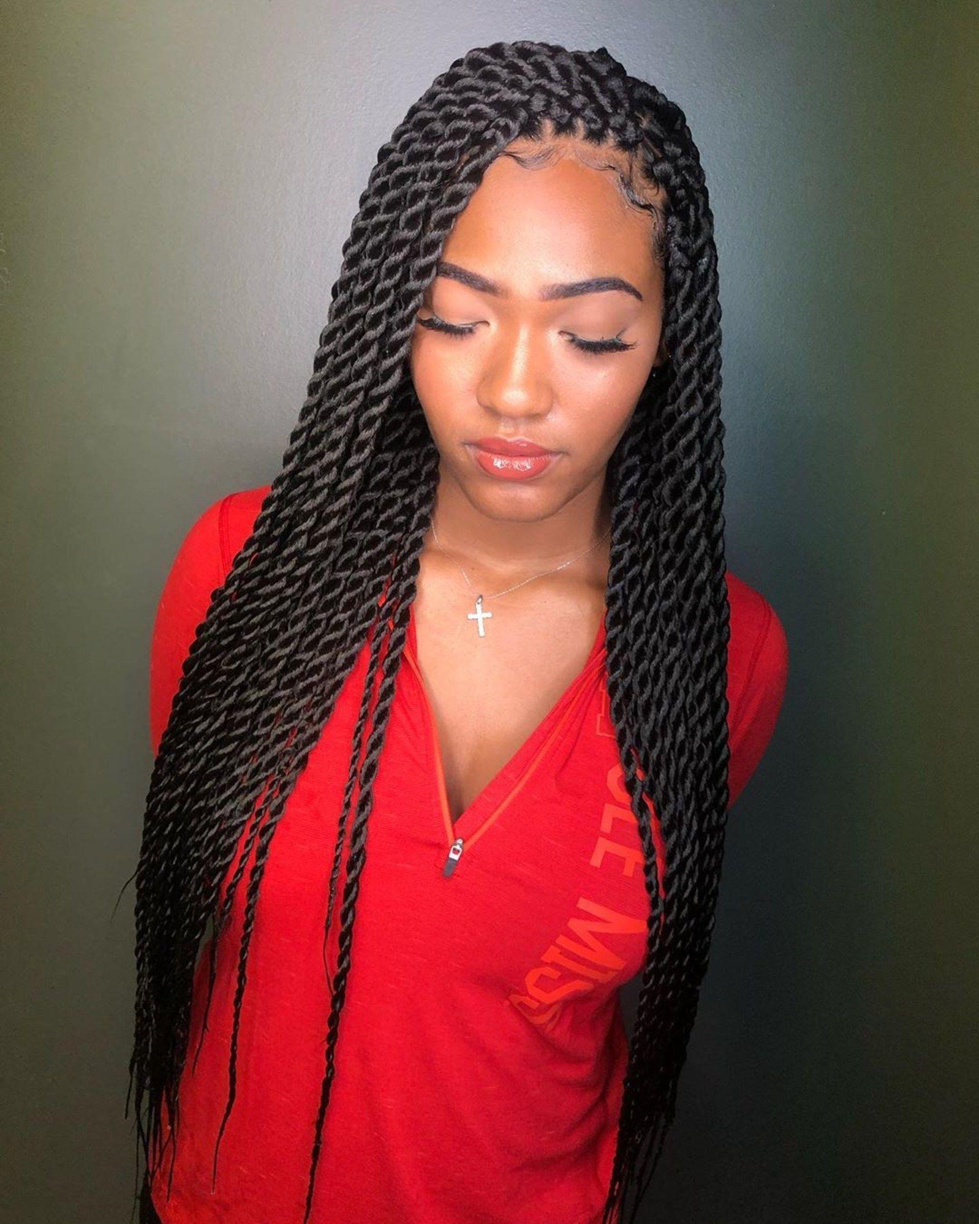 100 Best Havana Twist Braids Hairstyles 2020 For Black Women