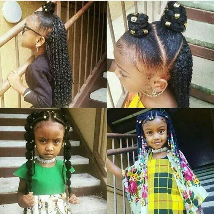With These Hairstyles Girls Will Shine At Their Birthday Party