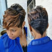 great short hairstyles black