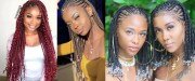ghana braids styles and ideas