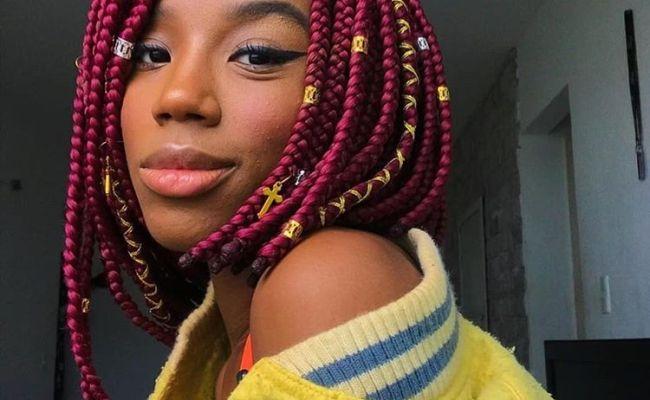 Ghana Weaving Hairstyles For Natural Hair Dubai Khalifa