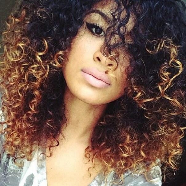 hair color ideas curly