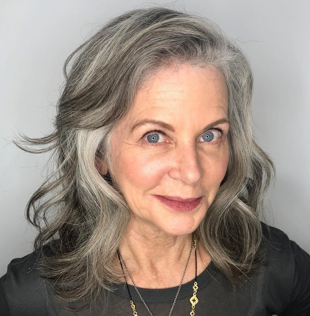 35 Gray Hair Styles To Get Instagram Worthy Looks In 2020