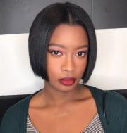 trend short hairstyles black