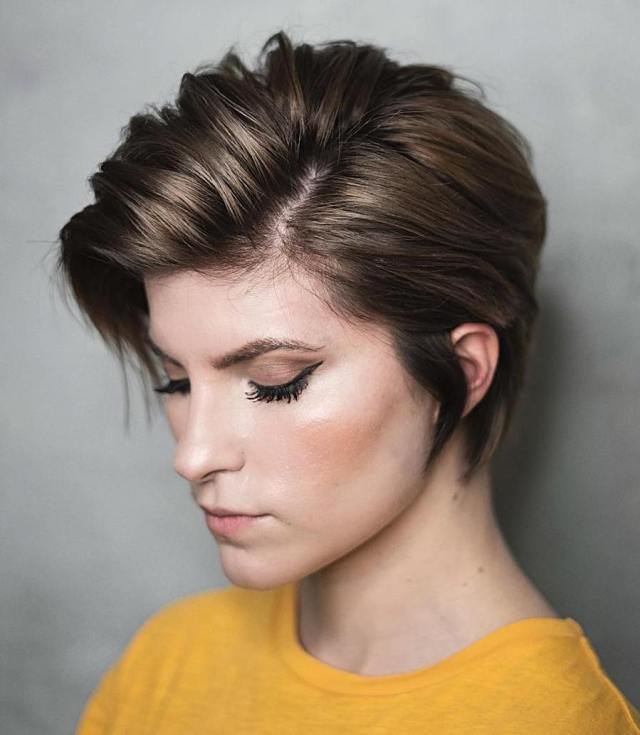 how to pull off long pixie cut in 2019 and to look picture