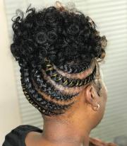 classy natural hairstyles