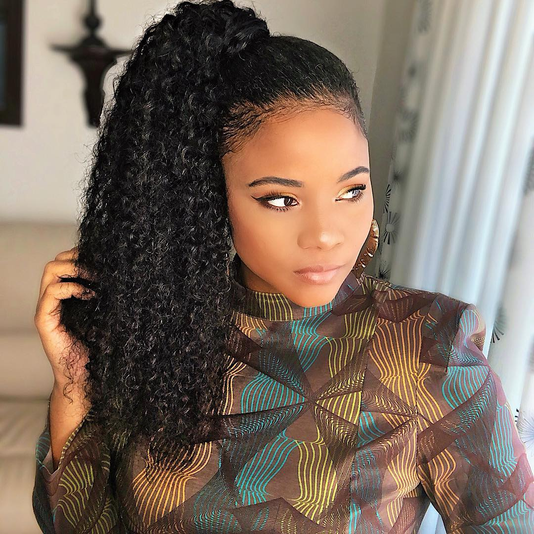 45 Classy Natural Hairstyles For Black Girls To Turn Heads In 2020