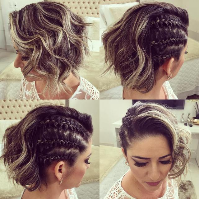 trendy updos for short hair: from casual to special occasions