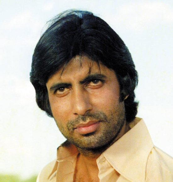 Amitabh With Sholay Hairstyle