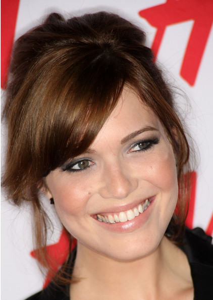 Mandy Moore Puff Hairstyle