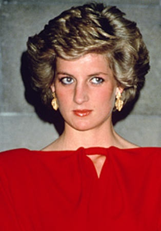 princess diana superb hairstyle