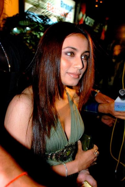 Rani Mukherjee Step Cut Hairstyle