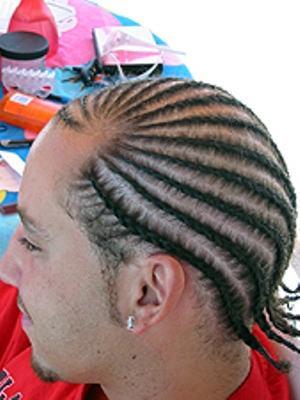 Cornrow Hairstyle