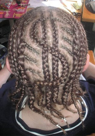 Trendy Cornrow Hairstyle