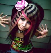 emo hairstyles girls - page
